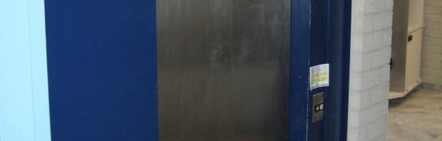 Renovatie lift uit 1988 te Wolvega