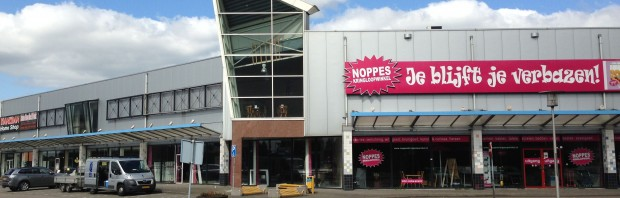 Verhuizing liftinstallatie Noppes Kringloopwinkels