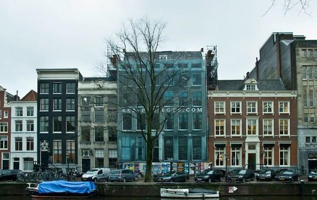 Maatwerklift Herengracht te Amsterdam