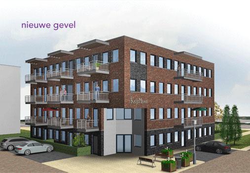 Renovatie lift KrijtHorst te Nieuwegein
